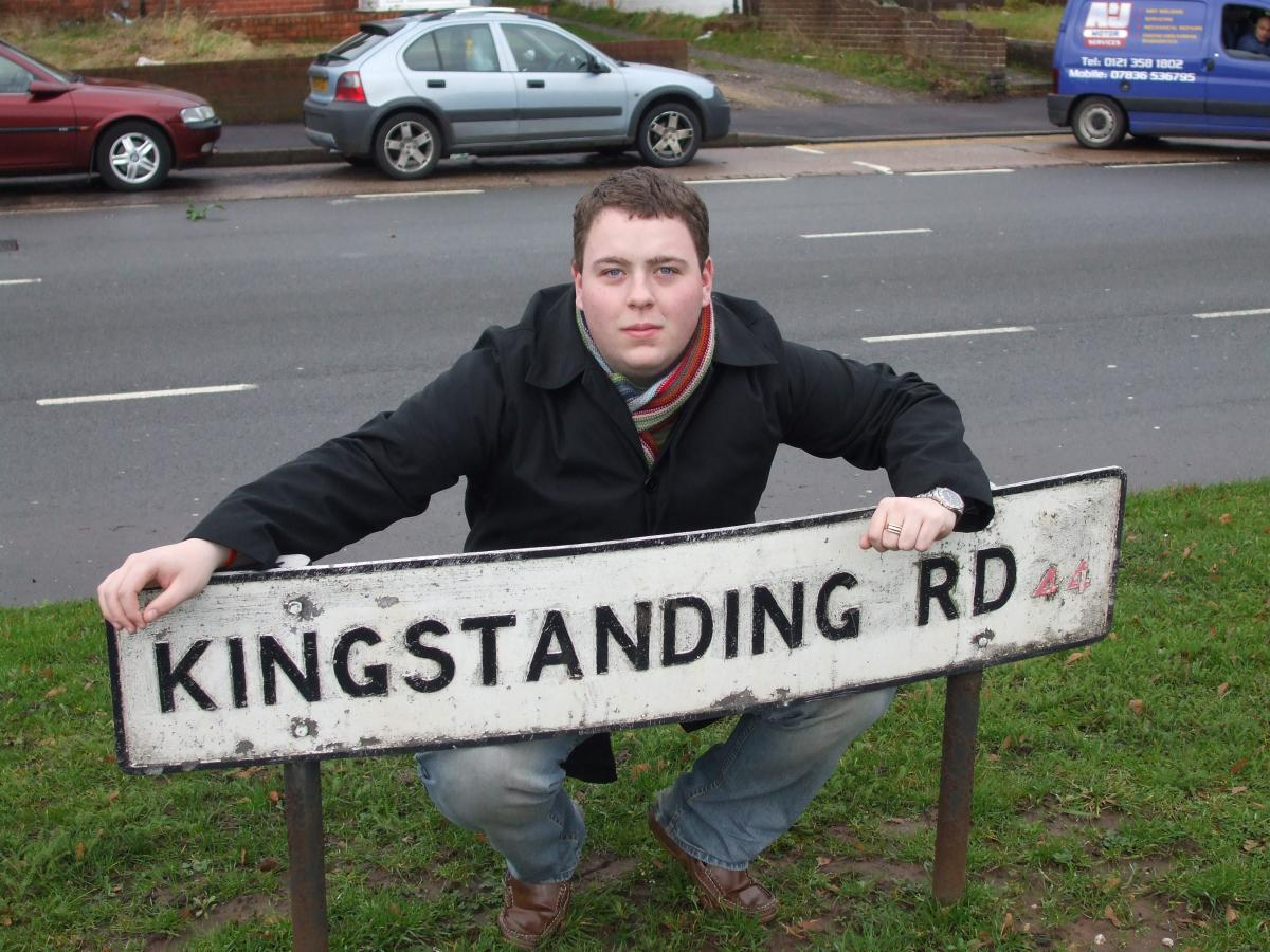 Gary Sambrook - Local Champion for Kingstanding